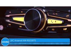 Demo of the JVC Arsenal KW-R925BTS CD receiver