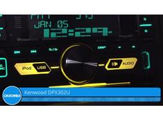 Demo of the Kenwood DPX302U CD receiver