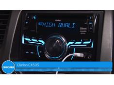 Video: Demo of the Clarion CX505 CD receiver