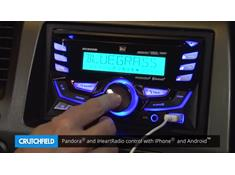 Demo of the Dual DC525Bi CD receiver