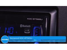Demo of the Kenwood KDC-BT565U CD receiver