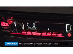 Demo of the JVC KD-R988BTS CD receiver