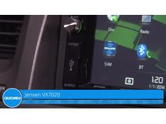 Demo of the Jensen VX7020 navigation receiver