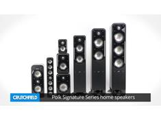 Polk Signature Series home speakers