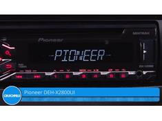 Video: Demo of the Pioneer DEH-X2800UI CD receiver