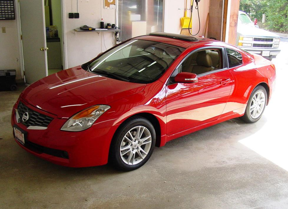 Amazing Nissan Altima Coupe