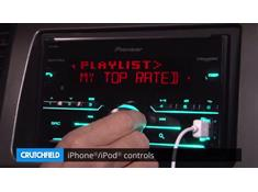 Demo of the Pioneer MVH-X690BS digital media receiver