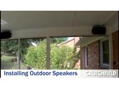 Video: Installing Outdoor Speakers