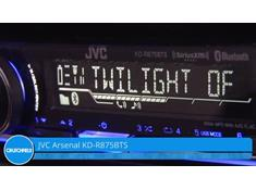 Demo of the JVC Arsenal KD-R875BTS CD receiver