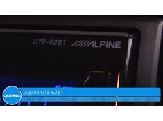 Demo of the Alpine UTE-62BT digital media receiver