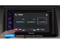 Demo of the Pioneer AVH-190DVD DVD receiver