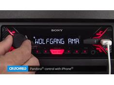 Demo of the Sony DSX-A200UI digital media receiver