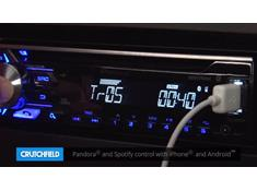 Demo of the Pioneer DEH-X3910BT CD receiver