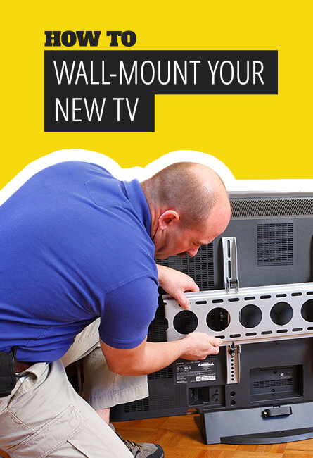 How to wall-mount your new TV