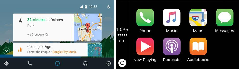 Survival of the Fittest: Apple CarPlay and Android Auto Vs  All