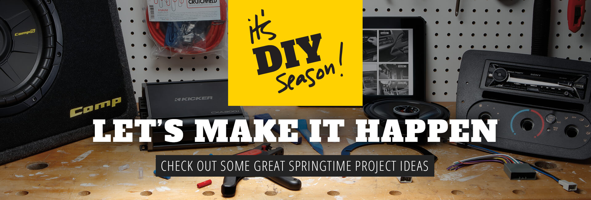 It's DIY season! Check out some great springtime project ideas