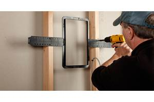 In wall and ceiling speaker placement and installation for Installing in wall speakers on exterior wall
