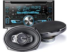 when you buy a car stereo with 2 sets of speakers: ends 4/30
