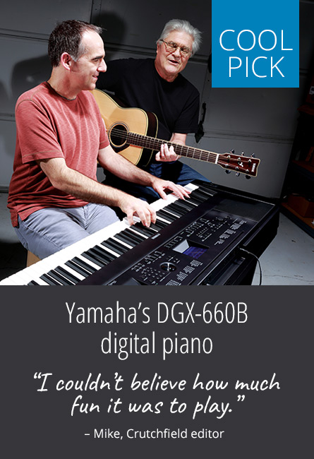 Our cool pick — Yamaha's DGX-660B digital piano