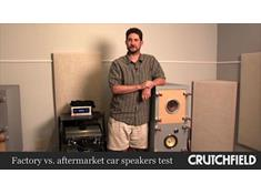 Video: Factory vs. aftermarket car speakers listening test