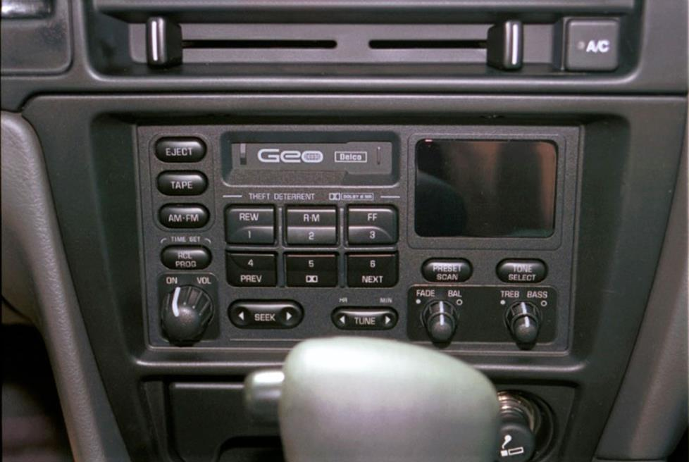 How To Install New Audio Gear In Your 19952001 Geochevrolet Metro Rhcrutchfield: Geo Metro Lsi Radio At Gmaili.net