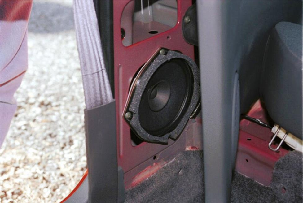 chevy geo metro rear side speakers