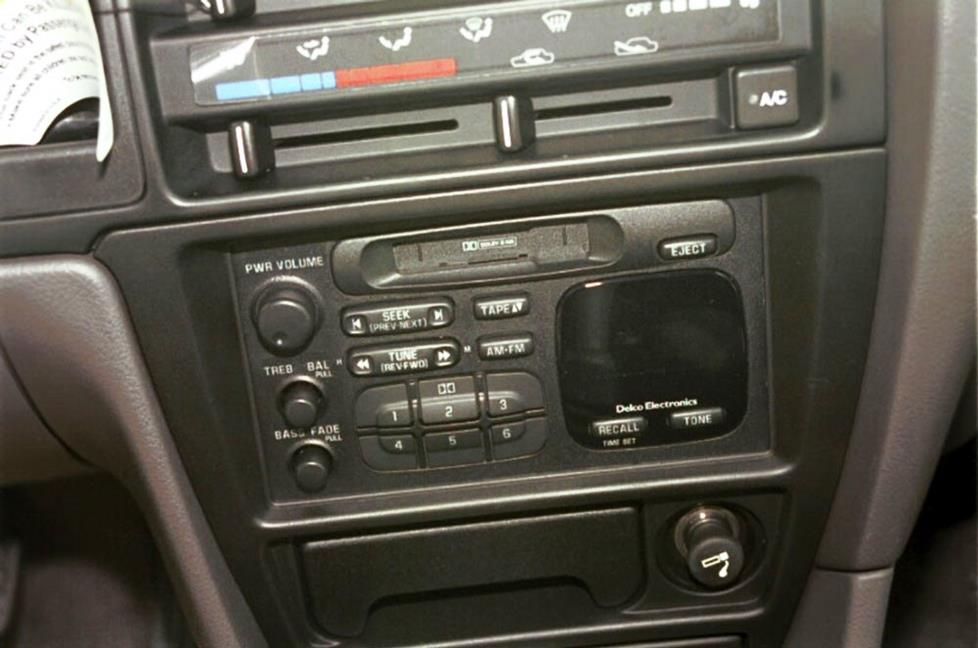 chevy metro radio