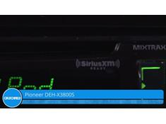 Video: Demo of the Pioneer DEH-X3800S CD receiver