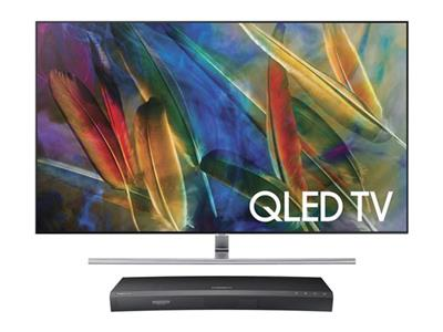 Free 4K Blu-ray player with new Samsung QLED TVs.Ends 5/6