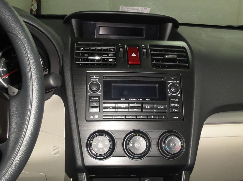 Subaru Crosstrek Radio