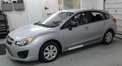 2012-2016 Subaru Impreza