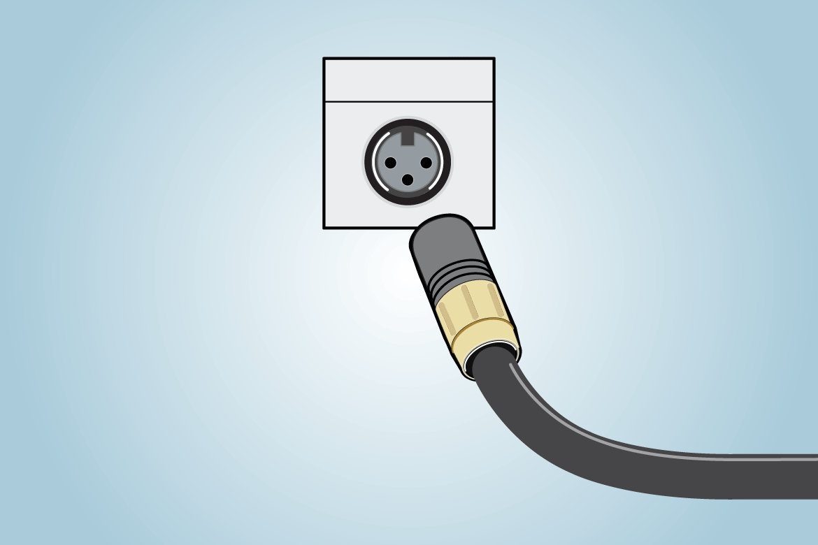 xlr-connector png