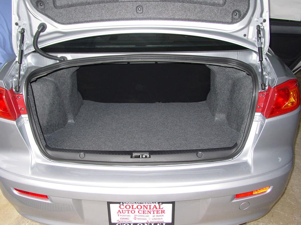 mitsubishi lancer sedan trunk