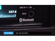 Demo of the JVC KD-AV41BT DVD receiver