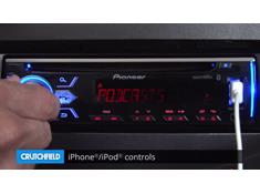 Demo of the Pioneer DEH-X4900BT CD receiver