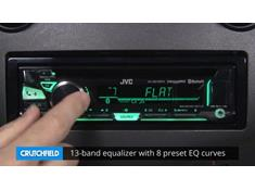 Demo of the JVC KD-R970BTS CD receiver