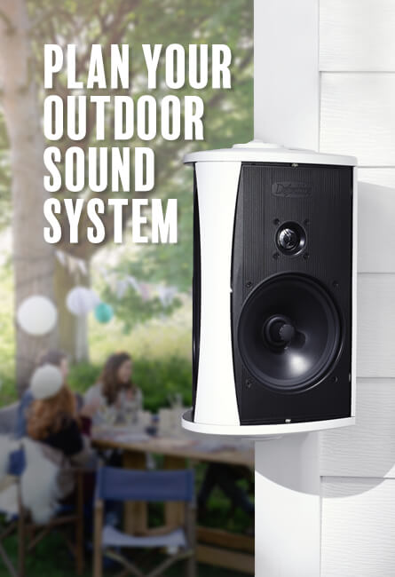Plan your outdoor sound system