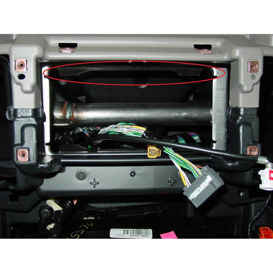 2011 Dodge Truck 3500 You'll have to modify your vehicle's sub-dash to install a new car stereo.