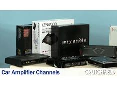 Video: car amplifier channels