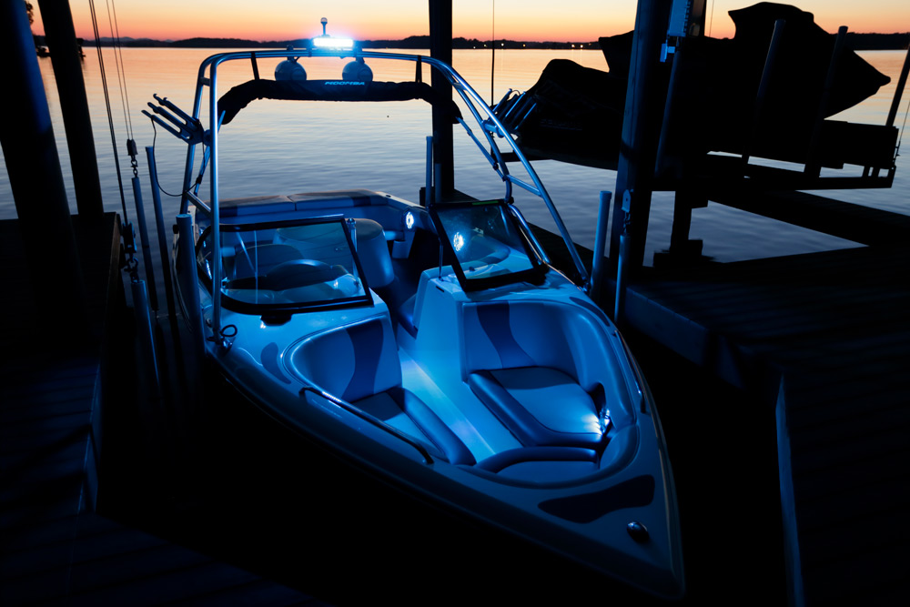 Pleasant Three Ways To Add Led Lighting To Your Boat Make Life On The Water Wiring 101 Breceaxxcnl