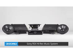 A look at the Sony RSX-2 Hi-Res Music System