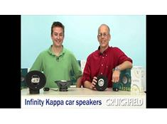 Video: Infinity Kappa car speakers