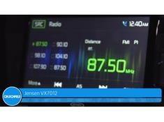 Video: Demo of the Jensen VX7012 navigation receiver