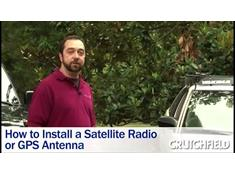 Video: How to install a satellite radio or GPS antenna