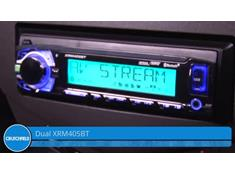 Video: Demo of the Dual XRM405BT digital media receiver