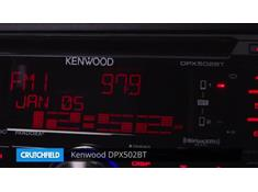 Demo of the Kenwood DPX502BT CD receiver