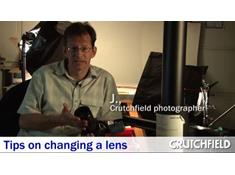 Video: Tips for changing an SLR lens