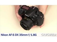 Video: Nikon AF-S DX Nikkor 35mm f/1.8G Lens