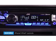 Demo of the JVC KD-R880BT CD receiver