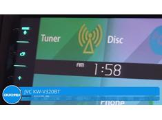 Demo of the JVC Arsenal KW-V320BT DVD receiver